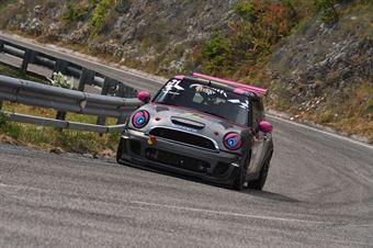 Pascucci Paola (P&G Racing, BMW Mini Cooper S #71), CAMPIONATO ITALIANO VELOCITÀ MONTAGNA