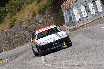 Andrea Lapi (Granducato Corse, Peugeot 106 #107), CAMPIONATO ITALIANO VELOCITÀ MONTAGNA