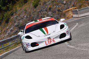 Tommaso Colella ( Global Sport Incentive, Ferrari F430 #52), CAMPIONATO ITALIANO VELOCITÀ MONTAGNA