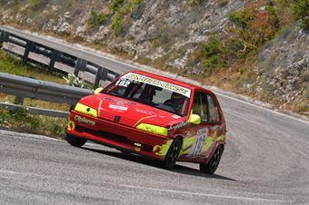 Giulia Gallinella ( Orvieto Corse, Peugeot 106 #192), CAMPIONATO ITALIANO VELOCITÀ MONTAGNA