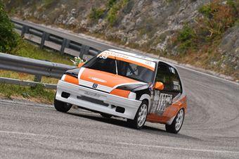 Salvatore Trapasso ( New Generation Racing, Peugeot 106 #135), CAMPIONATO ITALIANO VELOCITÀ MONTAGNA