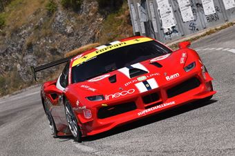 Ragazzi Roberto (Superchallenge, Ferrari 488 Challenge #54), CAMPIONATO ITALIANO VELOCITÀ MONTAGNA