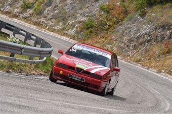 Stefano Spagnoli (Scuderia MPM, Alfa Romeo 155 #154), CAMPIONATO ITALIANO VELOCITÀ MONTAGNA