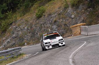 Cuccioloni Giovanni (Gs Ac Ascoli Piceno, Peugeot 106 #134), CAMPIONATO ITALIANO VELOCITÀ MONTAGNA