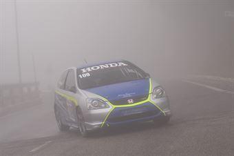 Giovanni Lisi ( Honda Civic Type R #109), CAMPIONATO ITALIANO VELOCITÀ MONTAGNA