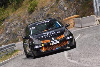 Marco Di Ferdinando ( En.Ro Competition, Renault Clio RS #153), CAMPIONATO ITALIANO VELOCITÀ MONTAGNA