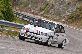 Daniele Amato ( Vimotorsport, Renault Clio W #104), CAMPIONATO ITALIANO VELOCITÀ MONTAGNA