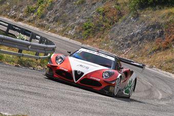 Marco Gramenzi (AB Motorsport, MG AR 4C #41), CAMPIONATO ITALIANO VELOCITÀ MONTAGNA