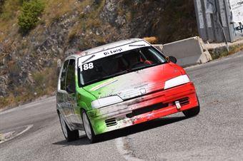 Di Luigi Pietro ( Team One Motorsport, Peugeot 106 #188), CAMPIONATO ITALIANO VELOCITÀ MONTAGNA