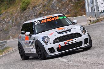 Giuseppe Aragona ( Cubeda Corse, Mini Cooper JCW #124), CAMPIONATO ITALIANO VELOCITÀ MONTAGNA
