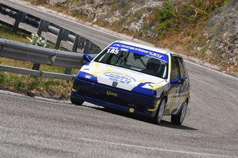 Angelucci Massimiliano ( New Generation Racing, Peugeot 106 #185), CAMPIONATO ITALIANO VELOCITÀ MONTAGNA