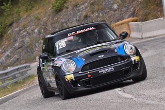 Roberto Malvasio (Winners Rally team, Mini Cooper JWC #126), CAMPIONATO ITALIANO VELOCITÀ MONTAGNA
