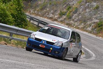Vassallo Antonio (Scuderia Vesuvio, Renaul Clio Rs #149, CAMPIONATO ITALIANO VELOCITÀ MONTAGNA