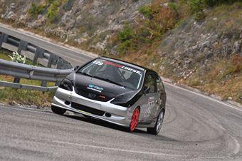 Luca Attorresi (Honda Civic #129), CAMPIONATO ITALIANO VELOCITÀ MONTAGNA