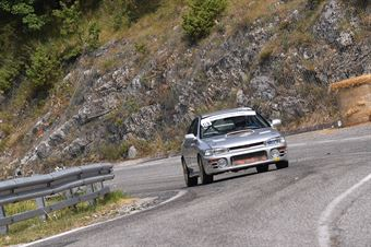 Enrico Francia (Team One Motorsport, Subaru Impreza #103), CAMPIONATO ITALIANO VELOCITÀ MONTAGNA
