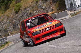 Rossi Luca (Peugeot 205 #89), CAMPIONATO ITALIANO VELOCITÀ MONTAGNA