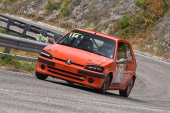 Francesco Pazzi ( Gaetani Racing, Peugeot 106 #114), CAMPIONATO ITALIANO VELOCITÀ MONTAGNA