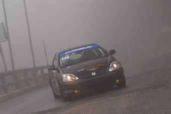 Cicalese Francesco Paolo (Tirreno Motorsport, Honda Civic #148), CAMPIONATO ITALIANO VELOCITÀ MONTAGNA