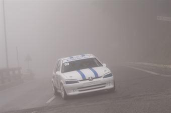 Emanuele Finestauri (Peugeot 106 #99), CAMPIONATO ITALIANO VELOCITÀ MONTAGNA