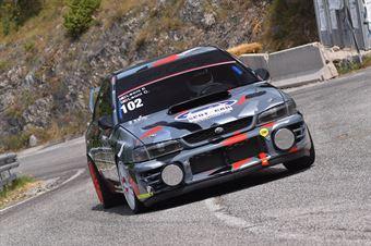 Federico Leoni (Gaetani Racing, Subaru Impreza #102), CAMPIONATO ITALIANO VELOCITÀ MONTAGNA