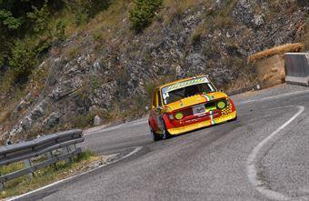 Jhonny D'agostino (Fiat 128 Giannini  #84), CAMPIONATO ITALIANO VELOCITÀ MONTAGNA