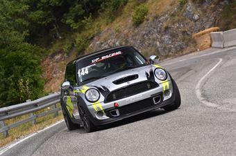 Maria Giulia De Ciantis (Mini Cooper S JCW #144), CAMPIONATO ITALIANO VELOCITÀ MONTAGNA