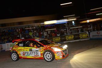 Paolo Andreucci, Anna Andreussi (Peugeot 208 T16 R5), CAMPIONATO ITALIANO WRC
