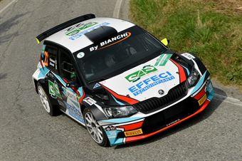 Jordan Brocchi, Fabio Berisonzi (Skoda Fabia R5 #22, WRT), CAMPIONATO ITALIANO WRC