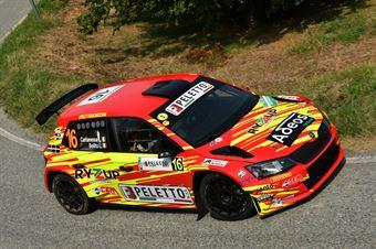 Luca Cantamessa, Lisa Bollito (Skoda Fabia R5 #16, Peletto Racing Team), CAMPIONATO ITALIANO WRC