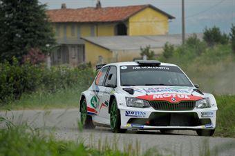 Andrea Carella, Enrico Bracchi (Skoda Fabia R5 #12, MS Munaretto), CAMPIONATO ITALIANO WRC