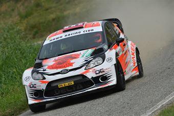 Lorenzo Della Casa, Domenico Pozzi (Ford Fiesta WRC  #10, Hawk Racing Club), CAMPIONATO ITALIANO WRC