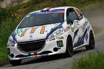 Fabio Farina, Luca Guglielmetti (Peugeot 208 R2 #87, Pintarally Motorsport), CAMPIONATO ITALIANO WRC