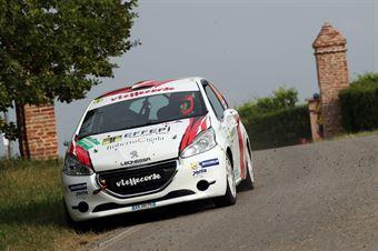 Gianluca Saresera, Manuel Fenoli (Peugeot 208 R2 #83, Leonessa Corse), CAMPIONATO ITALIANO WRC