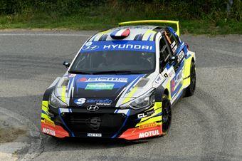 Stephane Sarrazin, Julien Renucci (Hyundai i20 R5 #6, Sarrazin Motorsport), CAMPIONATO ITALIANO WRC