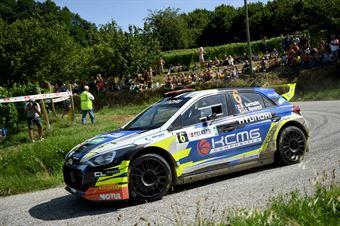 Stephane Sarrazin; Julien Renucci (Hyundai i20 R5 #6; Sarrazin Motorsport), CAMPIONATO ITALIANO WRC