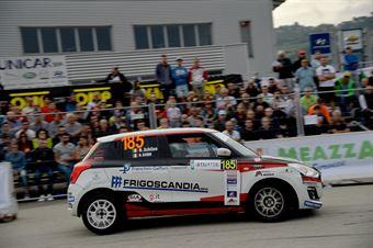 Nicola Schileo, Alessandro Cervi (Suzuki SWift R1 #185, WRT), CAMPIONATO ITALIANO WRC