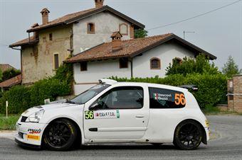 Roberto Vescovi, Giancarla Guzzi (Renault Clio S 1600 #56, GR Motorsport), CAMPIONATO ITALIANO WRC