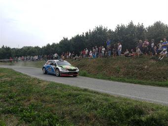 Jean Baptiste Francechi; Florian Haut Labourdet (Skoda Fabia R5, #11), CAMPIONATO ITALIANO WRC