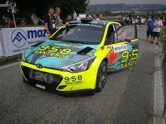 Ole Christian Veiby;Jonas Andersson (Hyundai I20 R5 #15), CAMPIONATO ITALIANO WRC