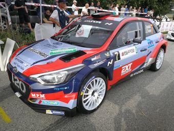 Umberto Scandola, Guido D'Amore (Hyundai I20 R5#7, Movisport), CAMPIONATO ITALIANO WRC