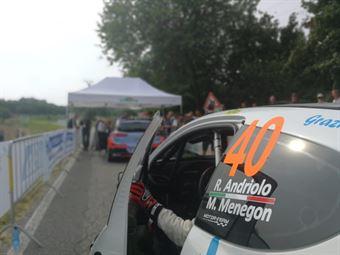 Rudy Andriolo, Manuel Menegon (Peugeot 207 S2000 #40, La Superba), CAMPIONATO ITALIANO WRC