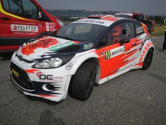 Lorenzo Della Casa; Domenico Pozzi (Ford Fiesta Wrc #10, Hawk Racing Club), CAMPIONATO ITALIANO WRC