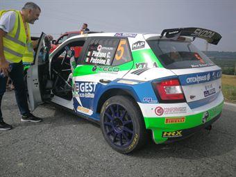 Corrado Pinzano, Roberta Passone (Skoda Fabia R5 #5, New Driver's Team), CAMPIONATO ITALIANO WRC