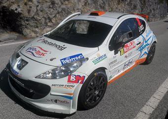 Rudy Andriolo, Manuel Menegon (Peugeot 207 S2000 #30 La Superba), CAMPIONATO ITALIANO WRC