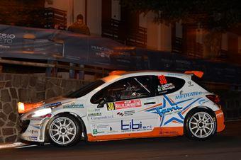 Rudy Andriolo, Manuel Menegon (Peugeot 207 S2000 #30, La Superba), CAMPIONATO ITALIANO WRC