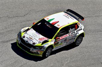 Pierleonardo Bancher, Giandomenico Longo (Skoda Fabia R5 #25, Pintarally Motorsport) , CAMPIONATO ITALIANO WRC