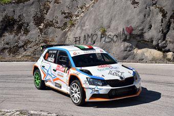 Giampaolo Bizzotto, Sandra Tommasini (Skoda Fabia R5 #19, La Superba) , CAMPIONATO ITALIANO WRC