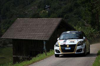 Ivan Cominelli; Igor Fieni (Suzuki Swift R1 #92; Mediaprom Racing), CAMPIONATO ITALIANO WRC