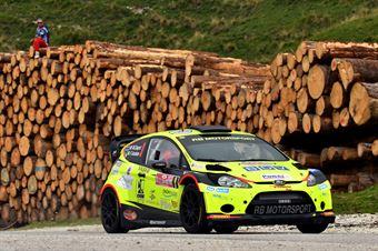 Matteo Dapra, Fabio Andrian (Ford Fiesta WRC #9, GDA Communication), CAMPIONATO ITALIANO WRC