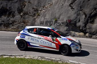 Fabio Farina, Luca Guglielmetti (Peugeot 208 R2 #51, Pintarally Motorsport), CAMPIONATO ITALIANO WRC